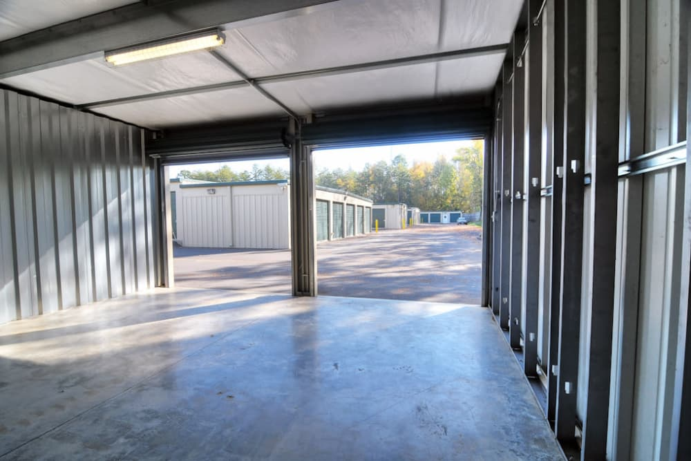 Interior storage units at Anchor Lake Wylie in Lake Wylie, South Carolina