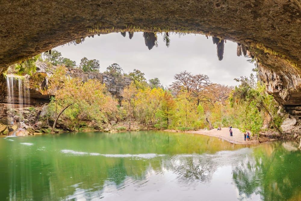 Beautiful cave in Austin, TX near Alta Tech Ridge