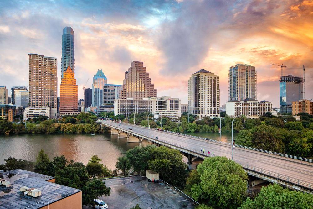 View of Austin, TX in Alta Tech Ridge