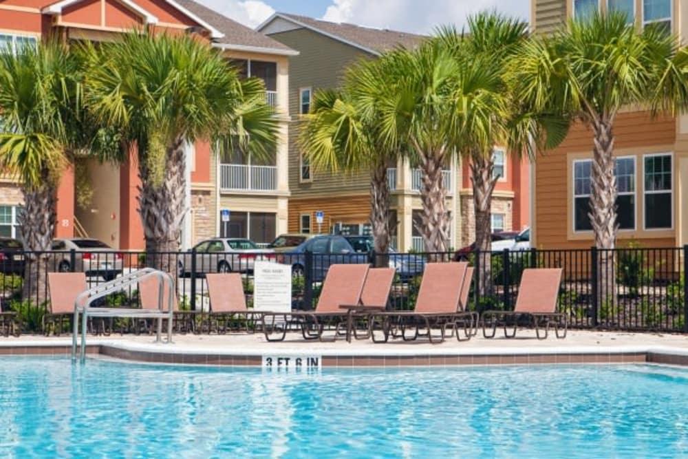 Swimming pool at Vista at Lost Lake in Clermont, Florida