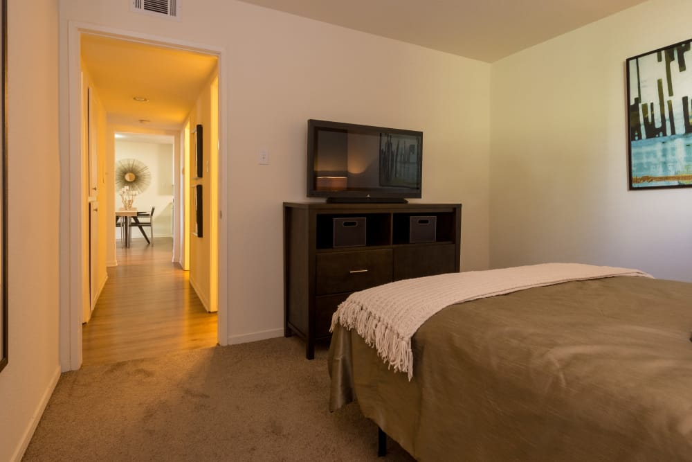 Large bedroom at Summer House Apartments