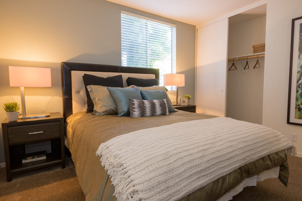 Master bedroom at Summer House Apartments