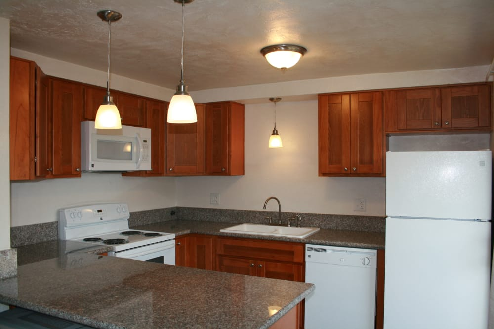 Village Park in Springfield, Oregon has a beautiful kitchen