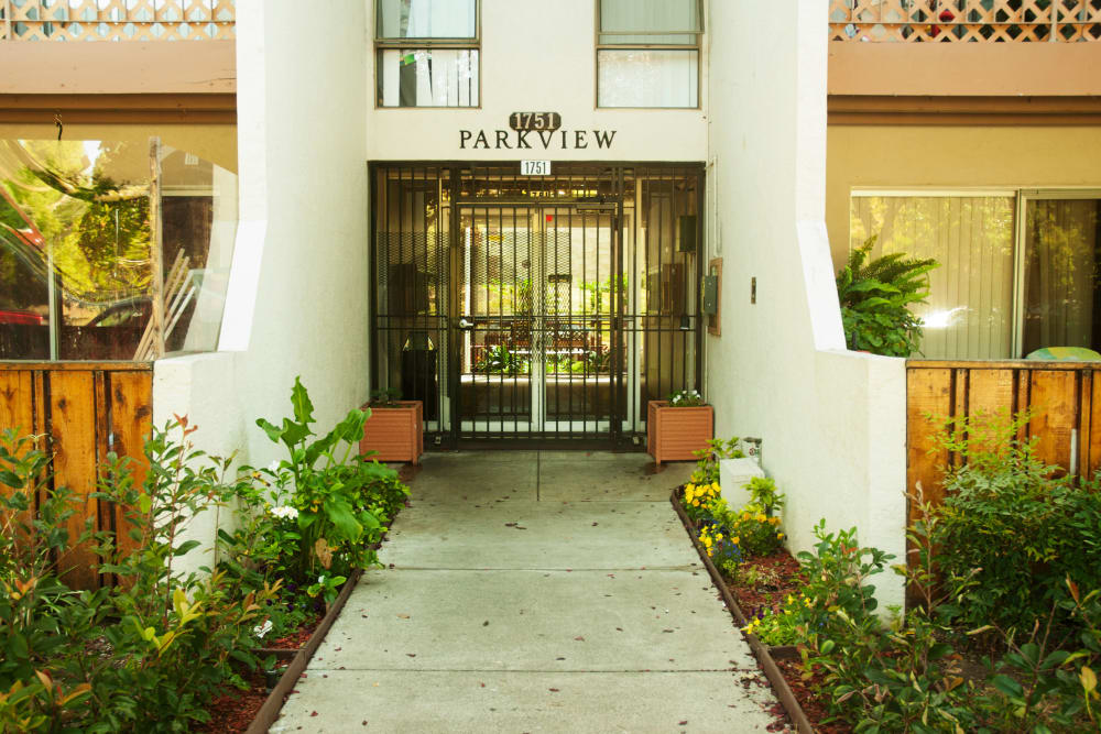 Leasing office at Parkview in Concord, California