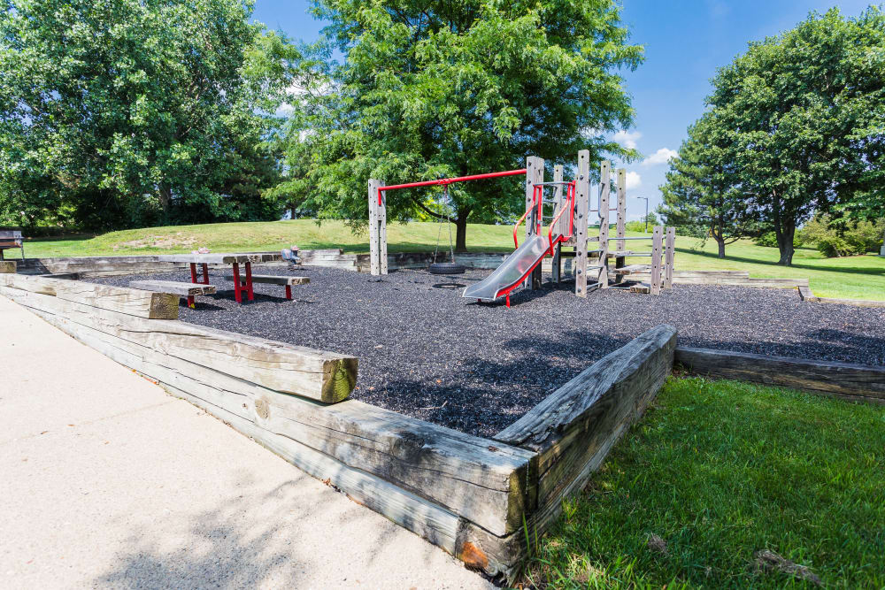 Playground at Briar Cove Terrace Apartments in Ann Arbor, MI