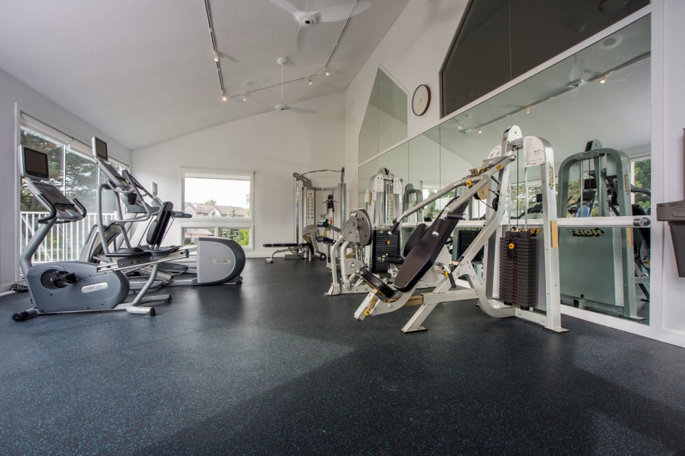 Gym at Briar Cove Terrace Apartments in Ann Arbor, MI