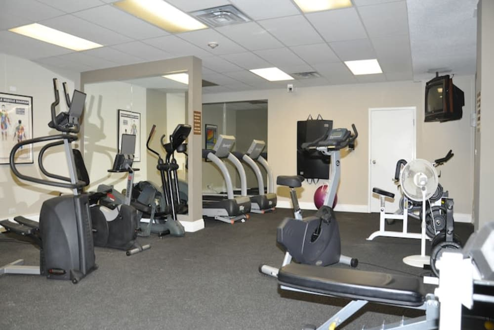Stay healthy in the Glenmore Heights fitness center in Calgary