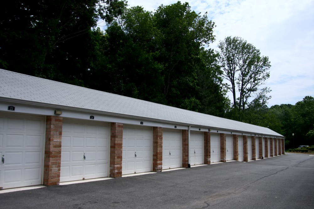 Pompton Gardens has ample covered parking for residents in Cedar Grove