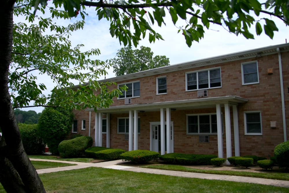 Exterior of Pompton Gardens in Cedar Grove