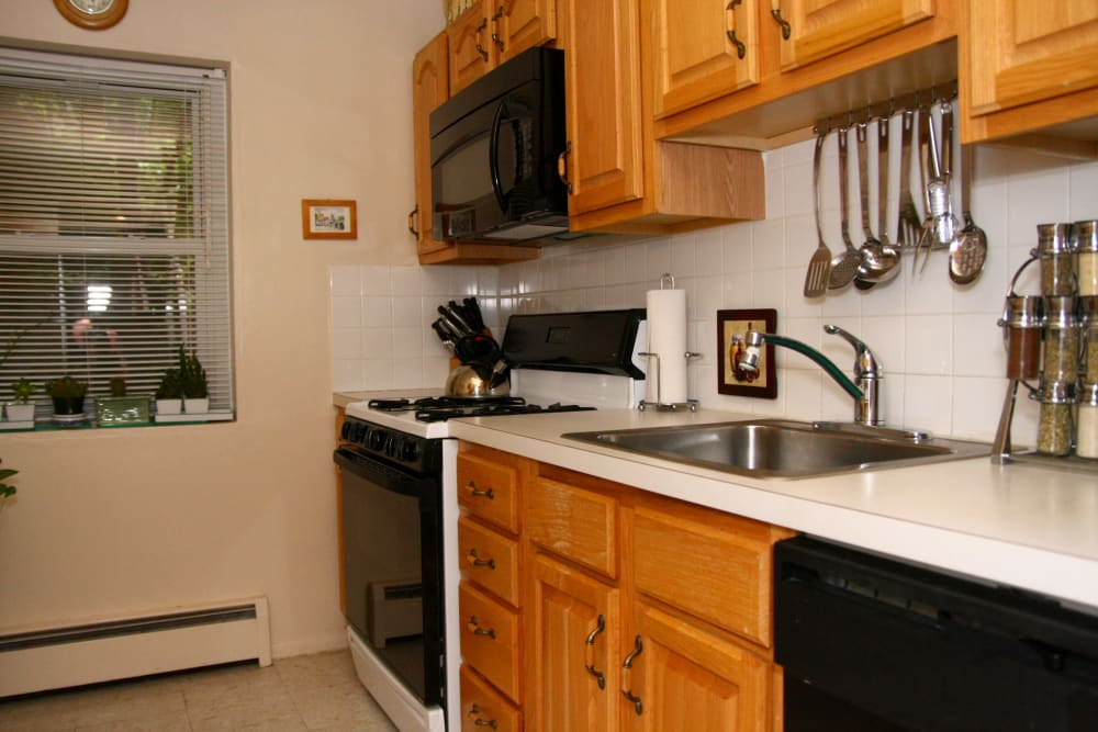 Alternative model kitchen at Pompton Gardens
