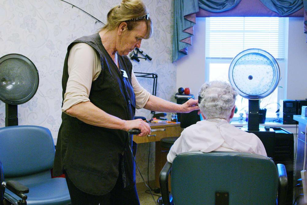 Salon services at Bozeman Lodge in Bozeman, Montana