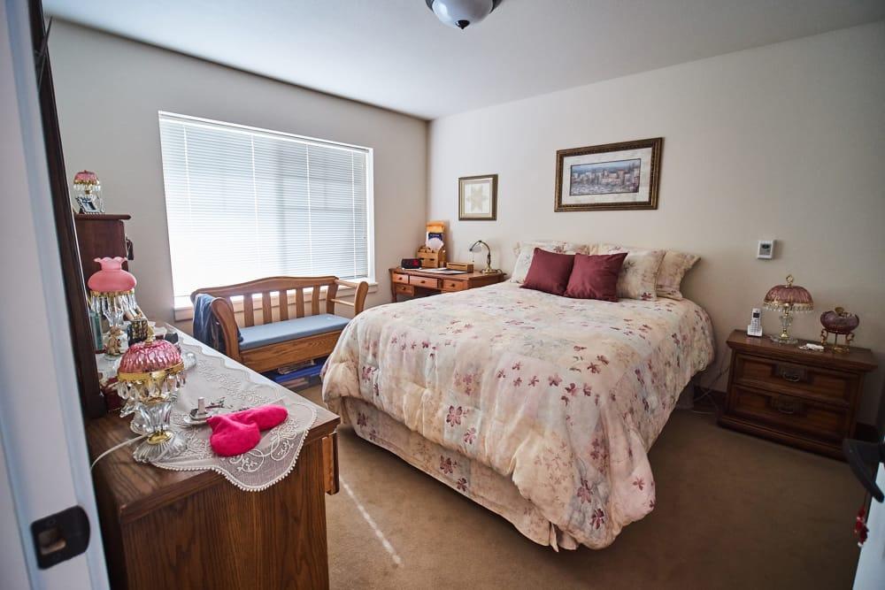 Bedroom at Bozeman Lodge in Bozeman, Montana