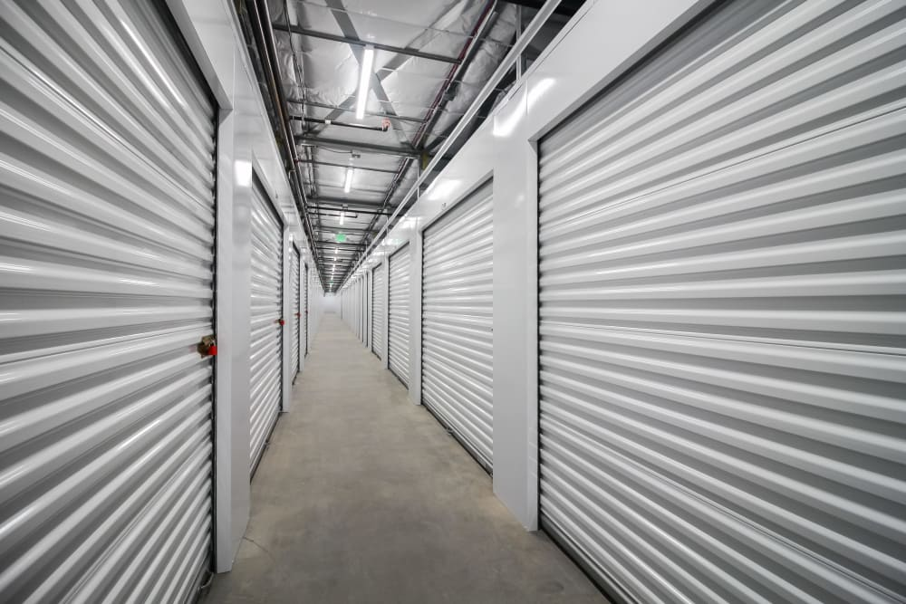 Interior self storage units in Bonney Lake