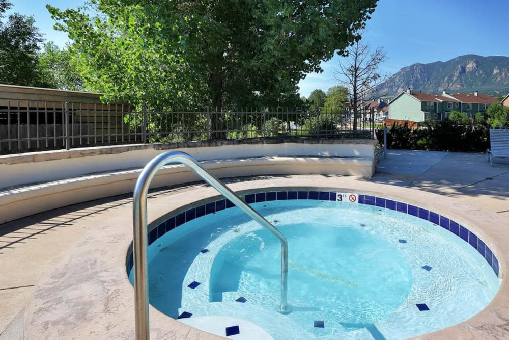Our Apartments in Colorado Springs, Colorado offer a Hot Tub