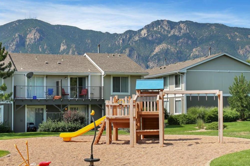 Playground at Broadmoor Ridge Apartment Homes in Colorado Springs, Colorado