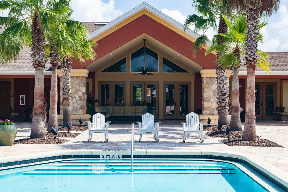 Clubhouse at Vista at Lost Lake in Clermont, Florida