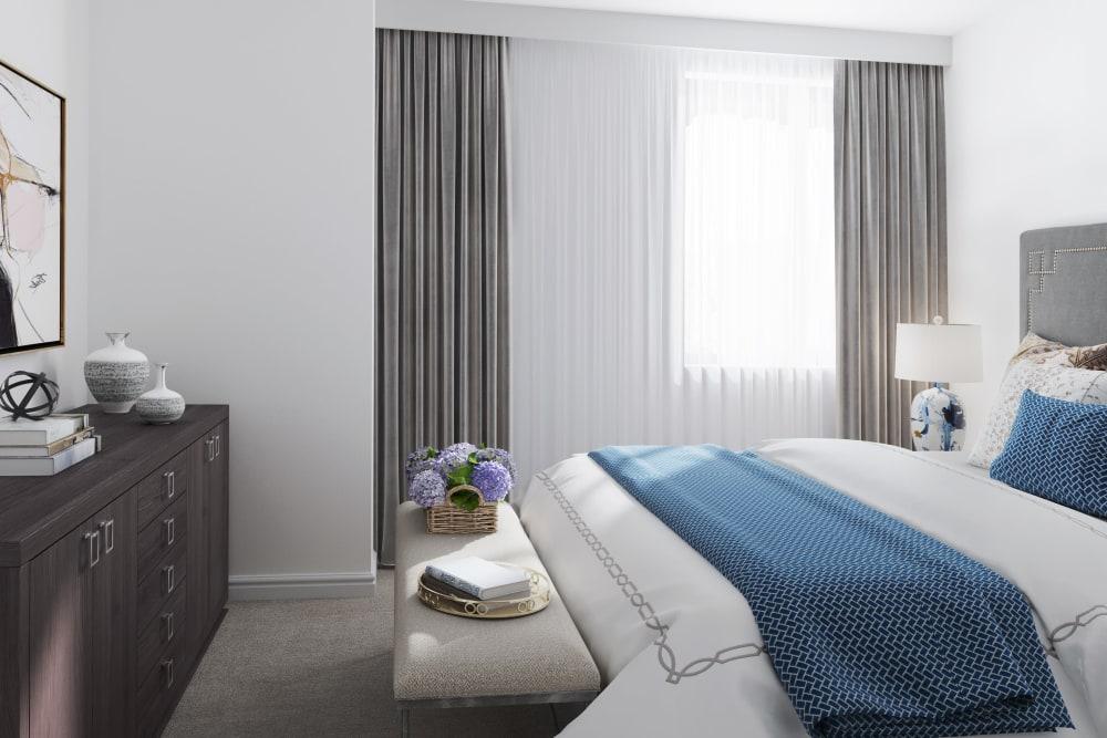 Bedroom at Spring Garden in Halifax