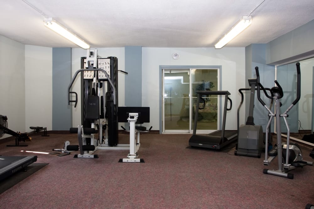 Fitness area at Spring Garden in Halifax