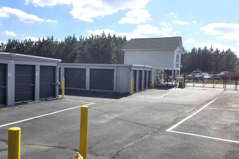 Side view of Prime Storage in Greenville, South Carolina