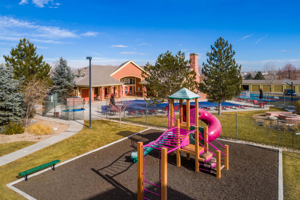 Playground at Willow Run Village Apartments