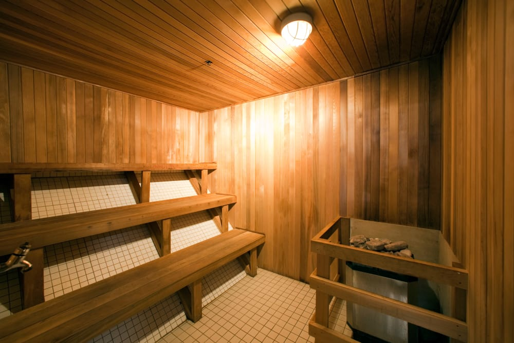 Sauna at Residences on Bloor