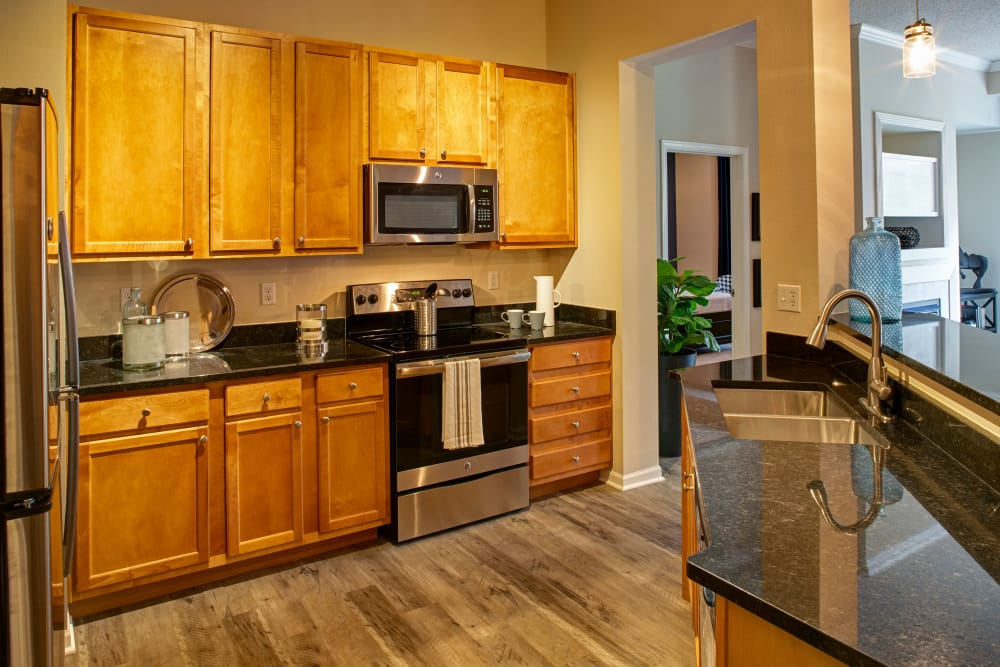 City Walk at Woodbury has beautiful bathroom appliances to give that touch of sophistication and simplicity.