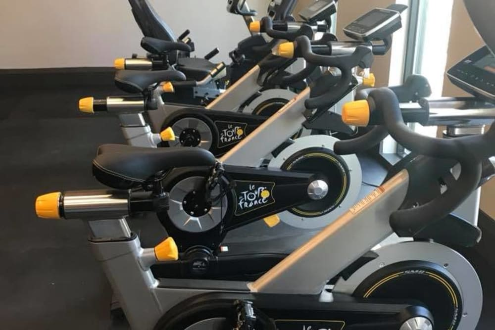 Machines from Vista at Lost Lake fitness center