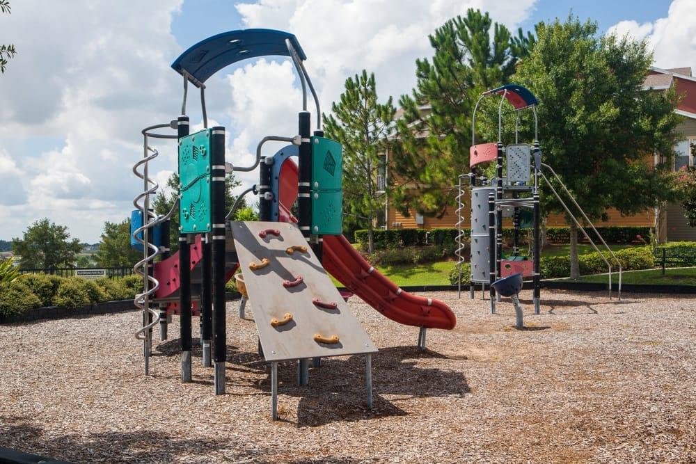 Park and playground at Vista at Lost Lake