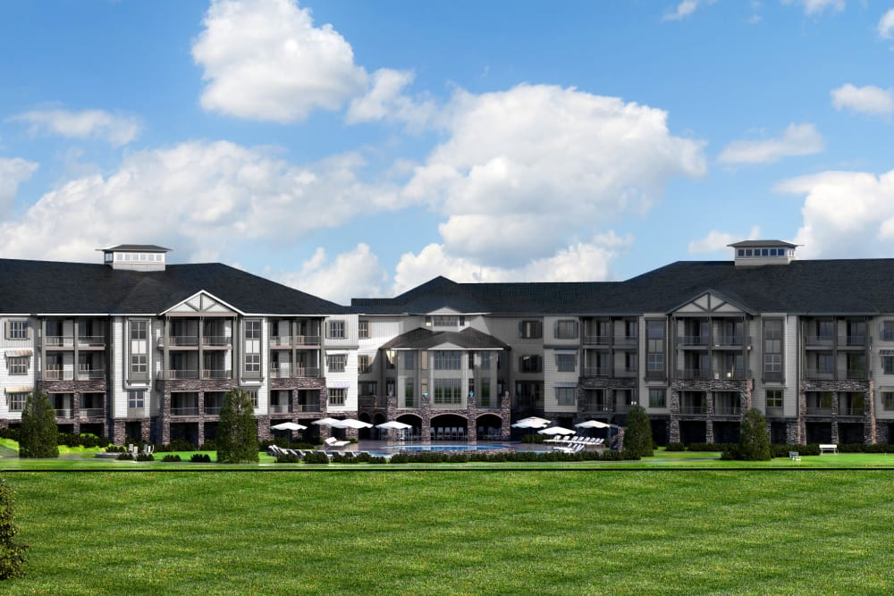 Exterior rendering of The Phoenix at Braselton in Flowery Branch, GA