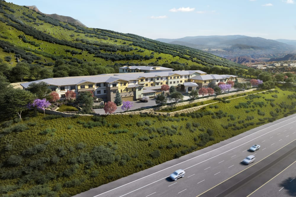 Sage Mountain is under construction in Thousand Oaks, California
