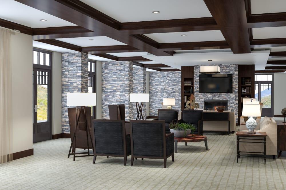Enjoy a luxury senior living experience at Sage Mountain