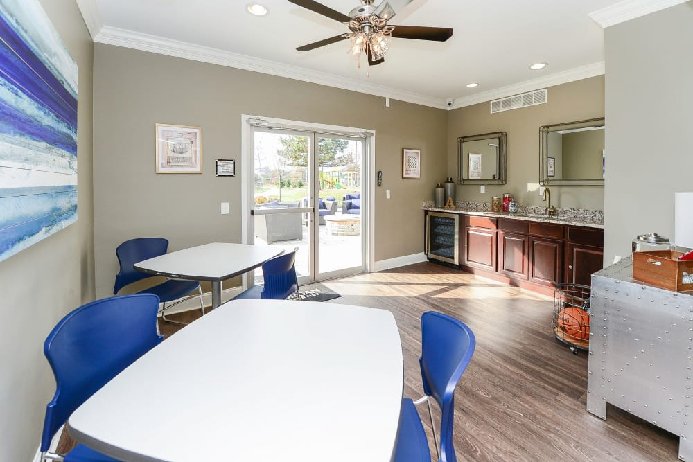 Enjoy Apartments with a Clubhouse at Abrams Run Apartment Homes
