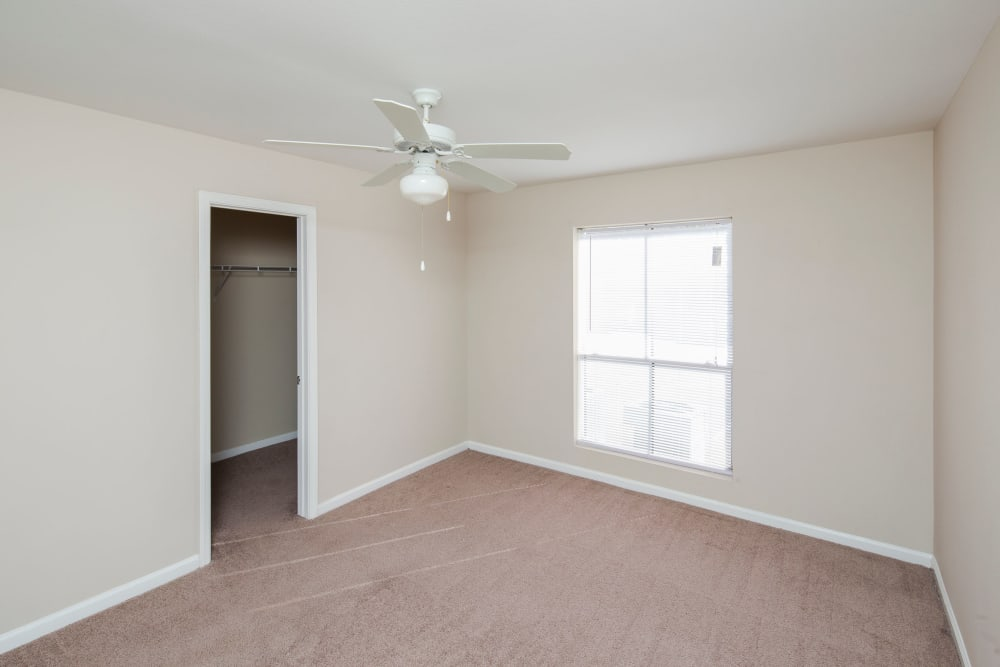unfurnished bedroom at Morgan Bay in Houston, Texas