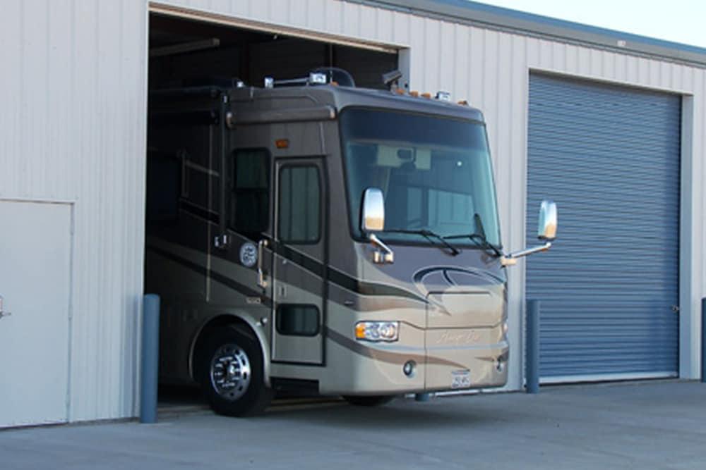 RV storage at Another Attic Self-Storage in Amarillo, TX