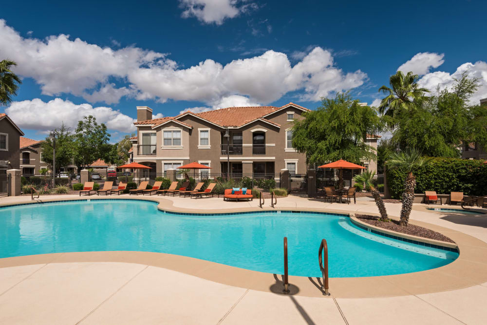 Our apartments in Mesa, Arizona have a state-of-the-art swimming pool