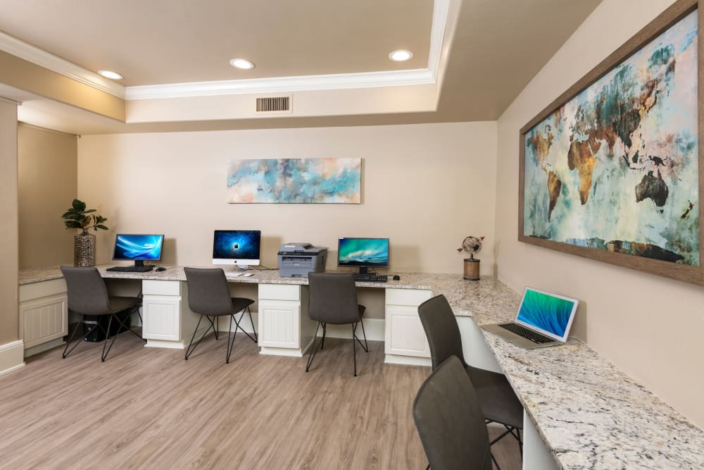 Work place at Villas on Hampton Avenue in Mesa, Arizona