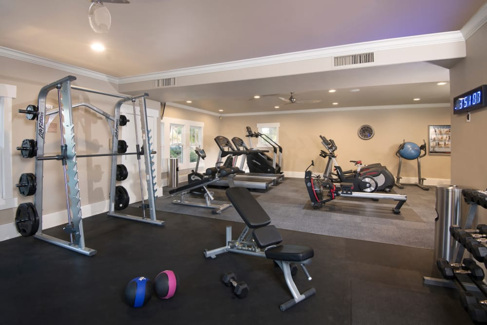 Our apartments in Mesa, Arizona have a state-of-the-art fitness center
