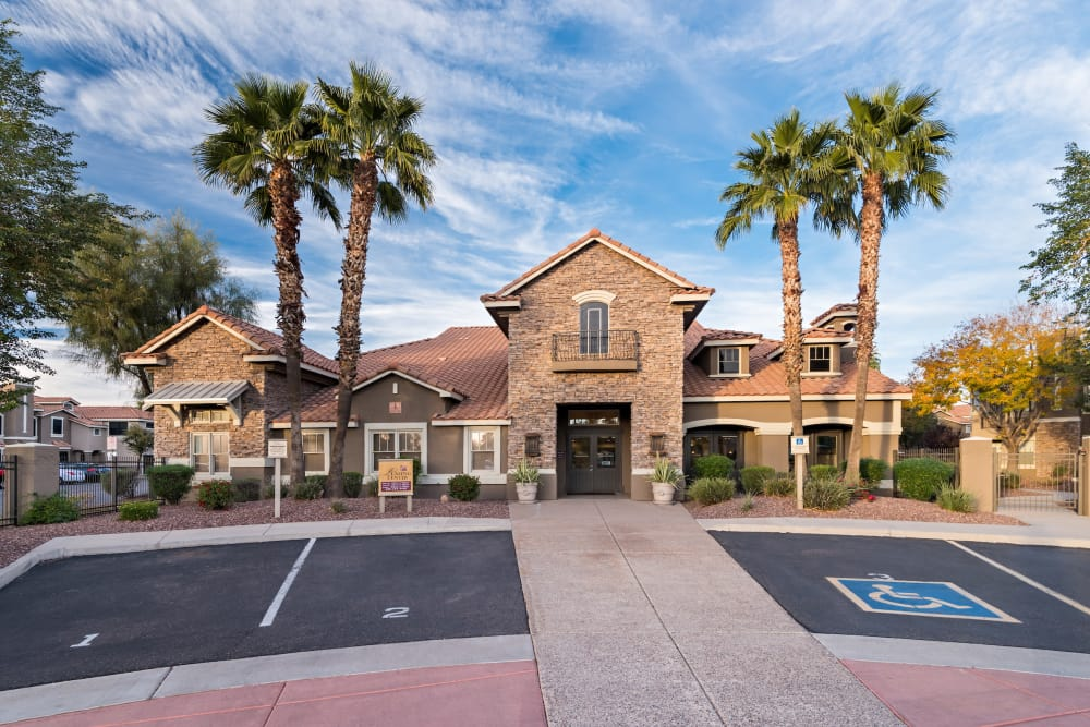 Exterior view at Villas on Hampton Avenue in Mesa, Arizona