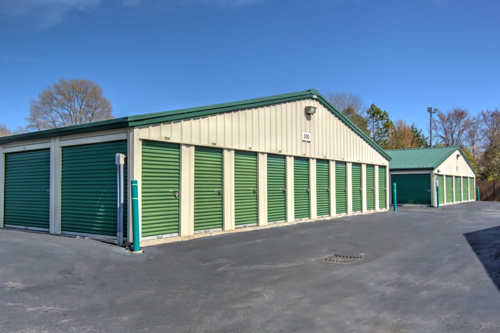 Outdoor units at Prime Storage in Winston-Salem, North Carolina