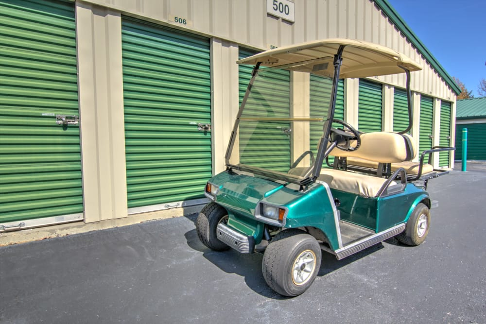 Dollies and carts available at Prime Storage in Winston-Salem, North Carolina