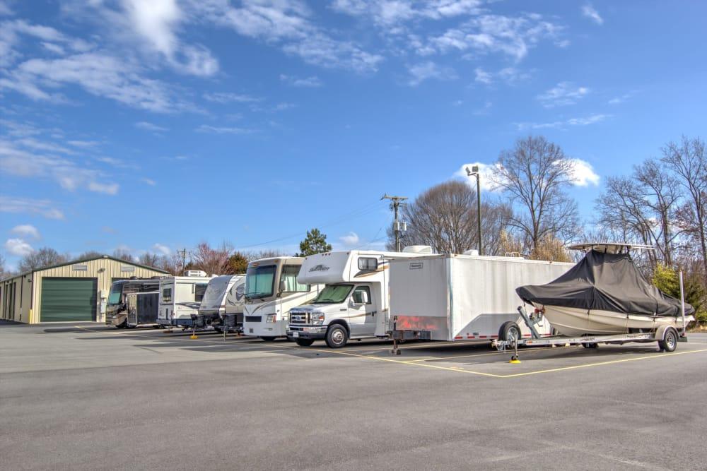 Boat Storage at Prime Storage in Winston-Salem, North Carolina