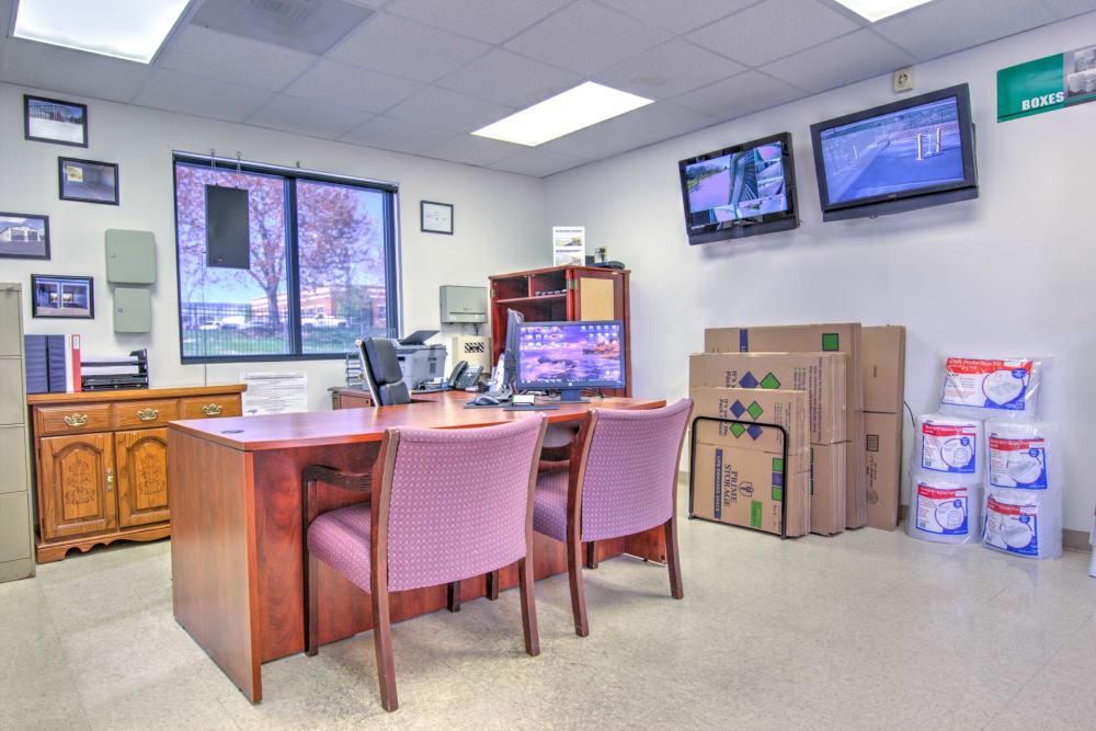 Prime Storage leasing office in Winston-Salem, North Carolina