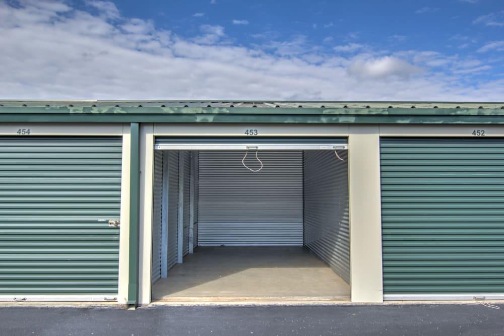 Variety of unit sizes at Prime Storage in Winston-Salem, North Carolina