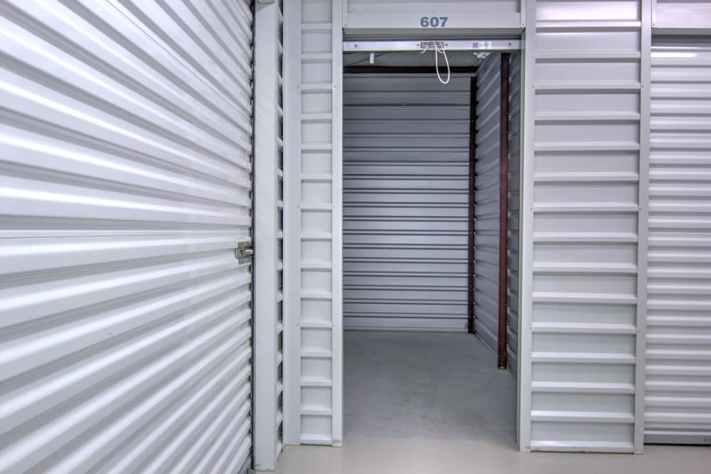 Indoor units at Prime Storage in Bolivia, North Carolina