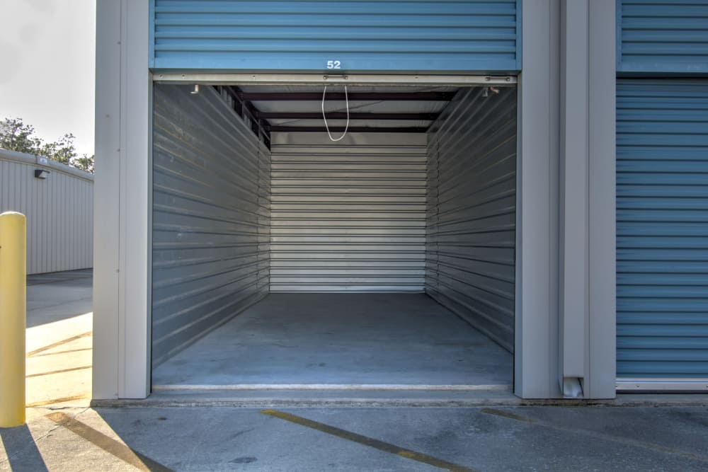 Outdoor unit view at Prime Storage in Bolivia, North Carolina