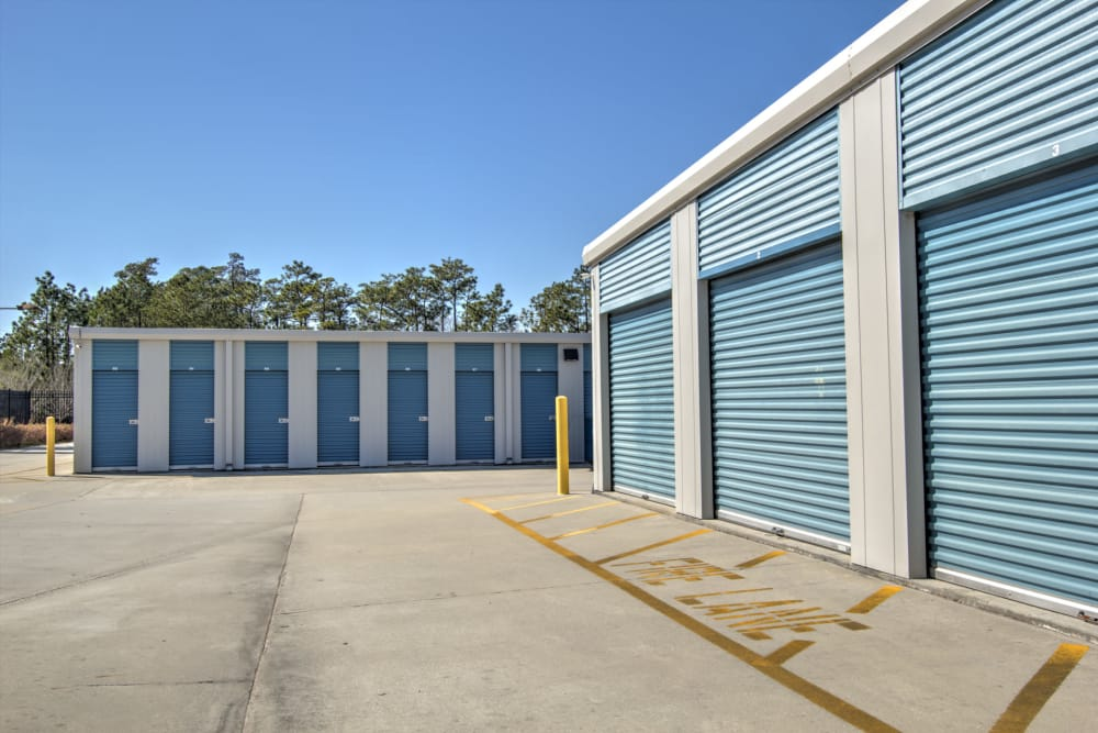 Outdoor units at Prime Storage in Bolivia, North Carolina