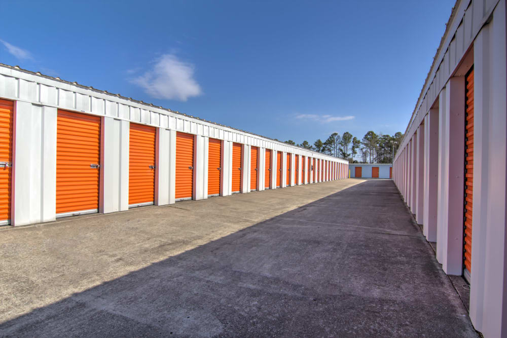 Storage units at Prime Storage in Little River, South Carolina