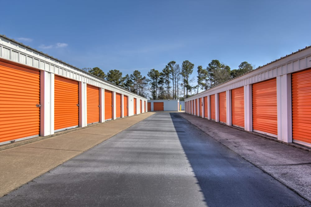 Outdoor units at Prime Storage in Little River, South Carolina