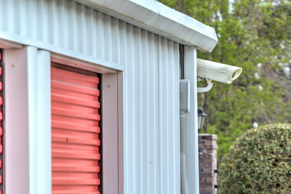 Surveillance camera at Prime Storage in Longs, South Carolina