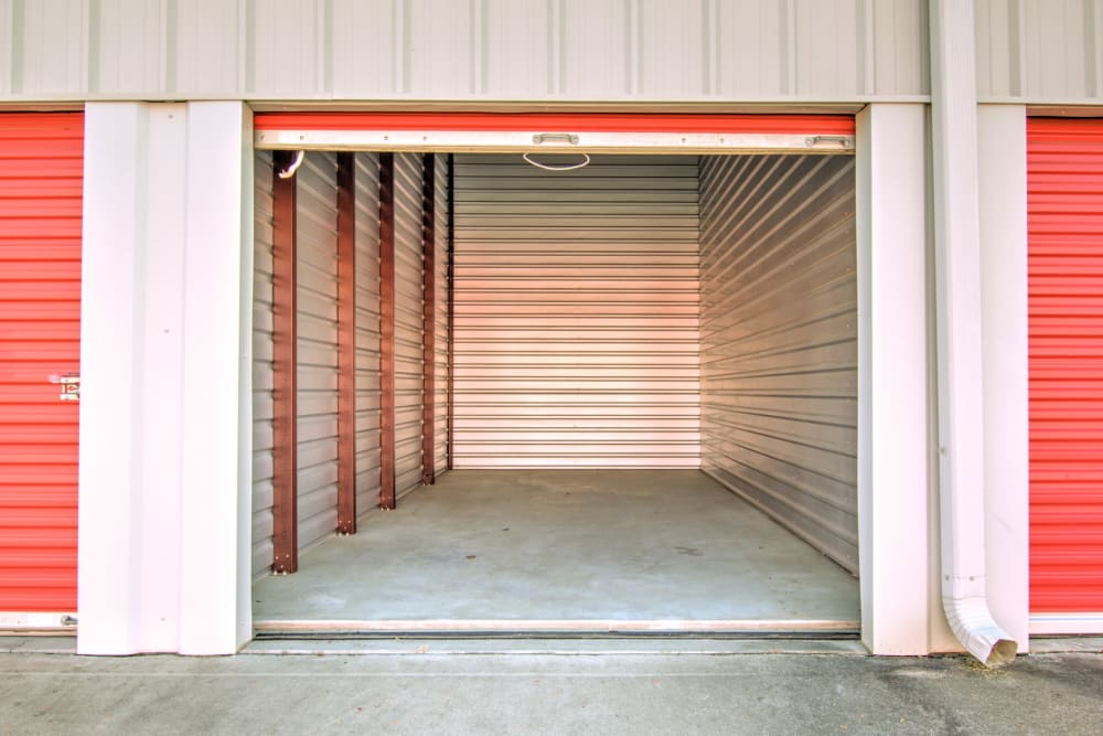 interior of unit at Prime Storage in Longs, South Carolina